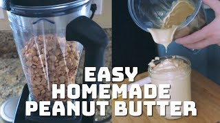 Easy Homemade Peanut Butter (Zero Waste and Plastic Free)