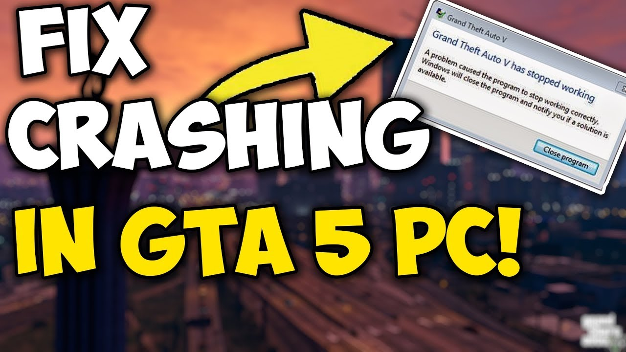 HOW TO FIX GTA 5 CRASHING WITH MODS!