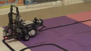 lego mindstorms nxt line following forklift part 1