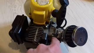 Explication du serrage du moteur 2temps mc culloch