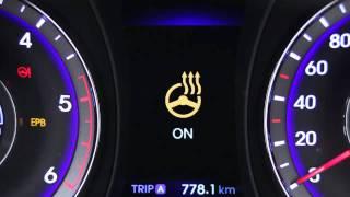 Hyundai i40 Подогрев руля смотреть