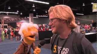 5secondfilms' Michael talks to HANS VON PUPPET