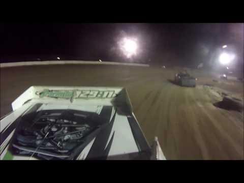 Tyler Sistrunk Motorsports - North Florida Speedway - Rear View Cam - 4-29-2017