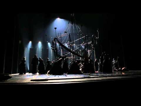 """Театр Вахтангова - хореографический спектакль """"Отелло"""". Эпизод 4."""
