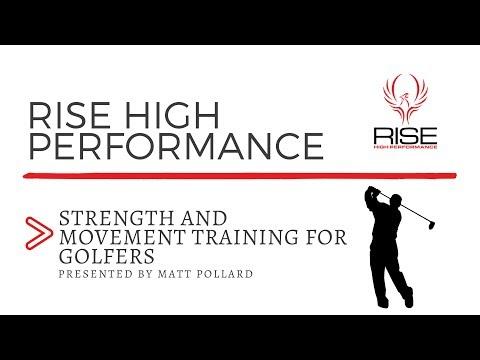 RHP Presents Strength and Movement Training for Golfers