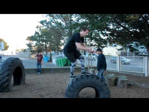San Francisco Parkour Monthly Jam #72: SF State