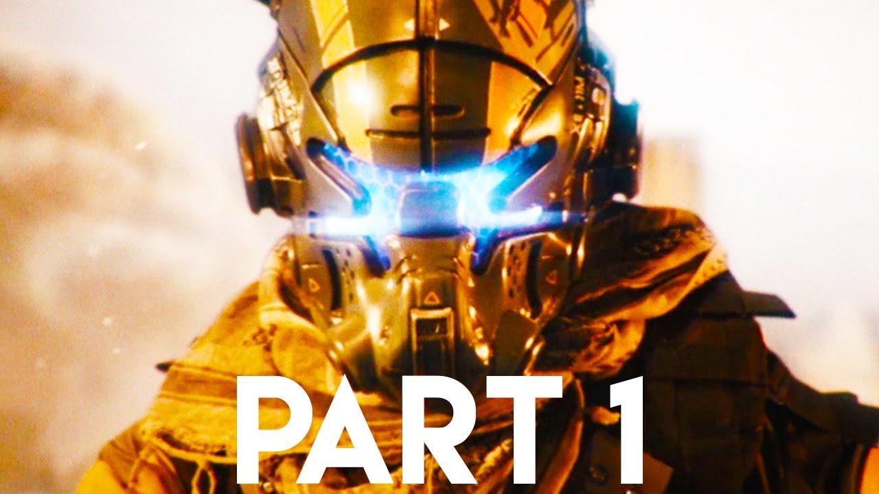 TITANFALL 2 Gameplay Walkthrough Part 1 - Campaign Intro