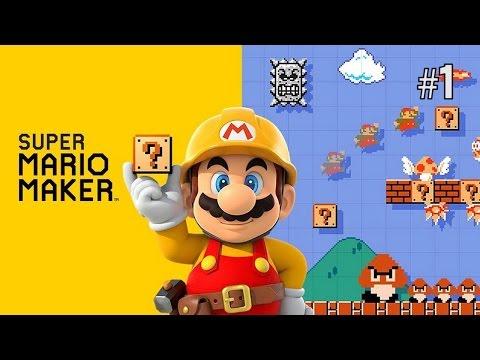 Twitch Livestream | Super Mario Maker Part 1