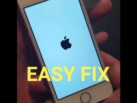 "IPHONE 3, 4, 5, 6, 6 , 6s, PLUS: SOLUTION TO FIX ""APPLE LOGO STUCK"" ON SCREEN"