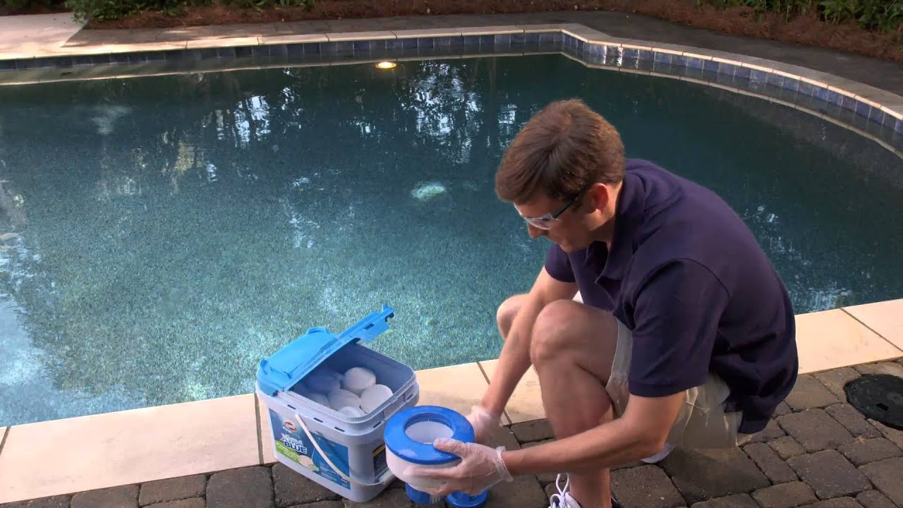 The Simpler, Smarter Pool Care System: Clorox Pool&Spa Easy 1-2-3 Pool Care  Brand System - YouTube