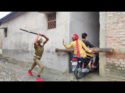 Download LOCKDOWN Amazing Funny Comedy Video 2021  Just for Fun Must Watch New Comedy Video  Bindas Fun Masti