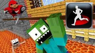 - Monster School Acrobatics Minecraft Animation