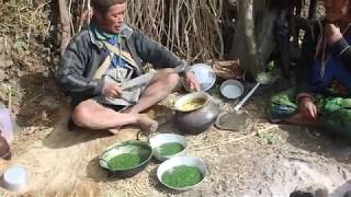 Eating Nepali food    Shepherd food in Nepal ll Shepherd life ll Village life In Nepal ll