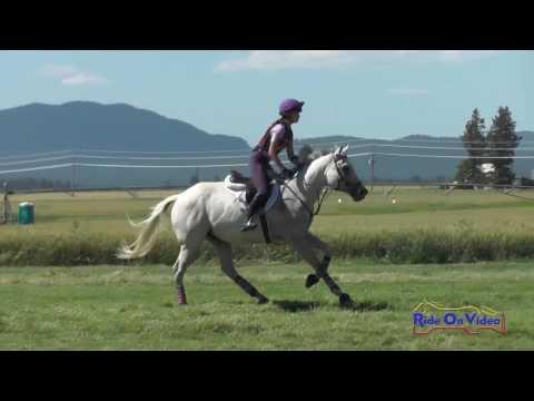 549XC Lily Seymour on Pop 'Em and Rock 'Em JR Open Novice Cross Country Rebecca Farm July 2016