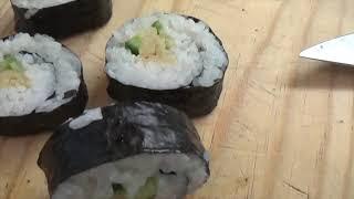 Vem fazer Hosomaki (comida japonesa) comigo!