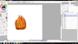 Как нарисовать огонь в Paint tool SAI(Туториал по рисованию огня.Здесь только основы,но вы можете и лучше))), 2013-12-26T13:27:49.000Z)