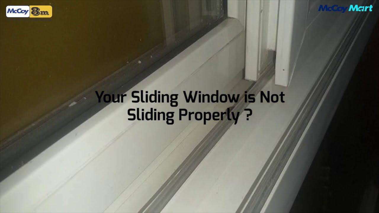 Installing rollers on sliding windows