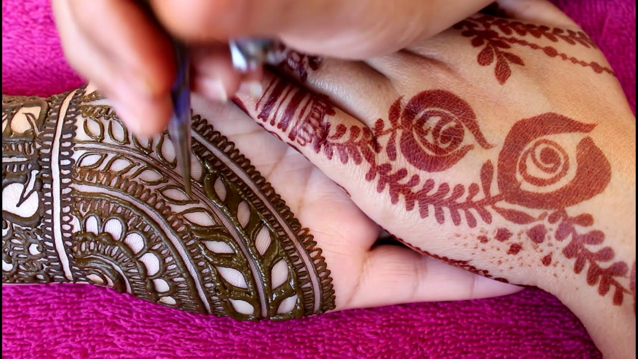 Full Hand Arabic Mehndi Design 2018 Latest Images