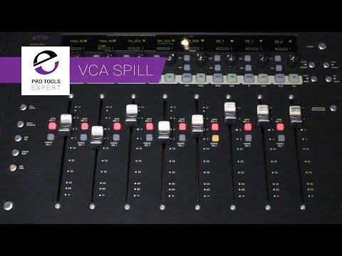 Check Out This Cool New VCA Spill Feature That Avid Sneaked Into EuControl