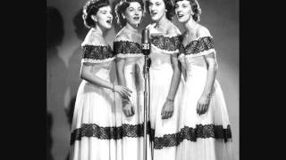 The Chordettes - The Sweetheart of Sigma Chi (1952)