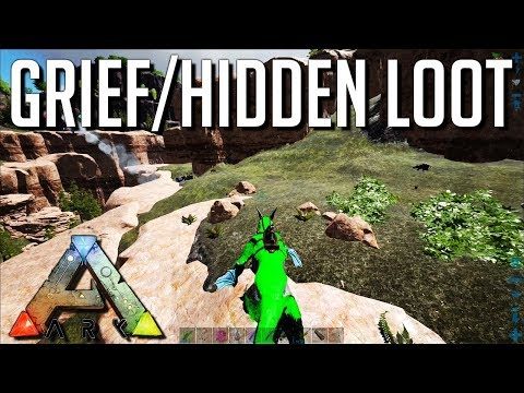 HIDDEN Bases And Griefing : ARK: Survival Evolved Official Small Tribe Servers