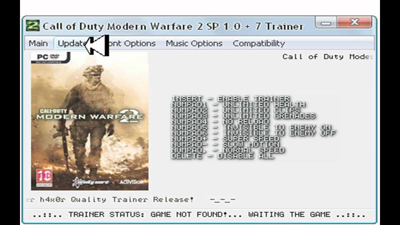 Call of Duty Modern Warfare 2 Trainer