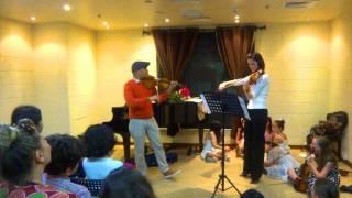 """humoresque"" violin duet by dvorak Thumbnail"