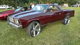Download Mikeys 1981 El Camino On 26 Inch Irocs Videos Dcyoutube