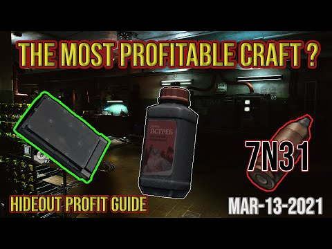 Are You Crafting the Most profitable Item in the Hideout?  – Escape from Tarkov – Profit Guide