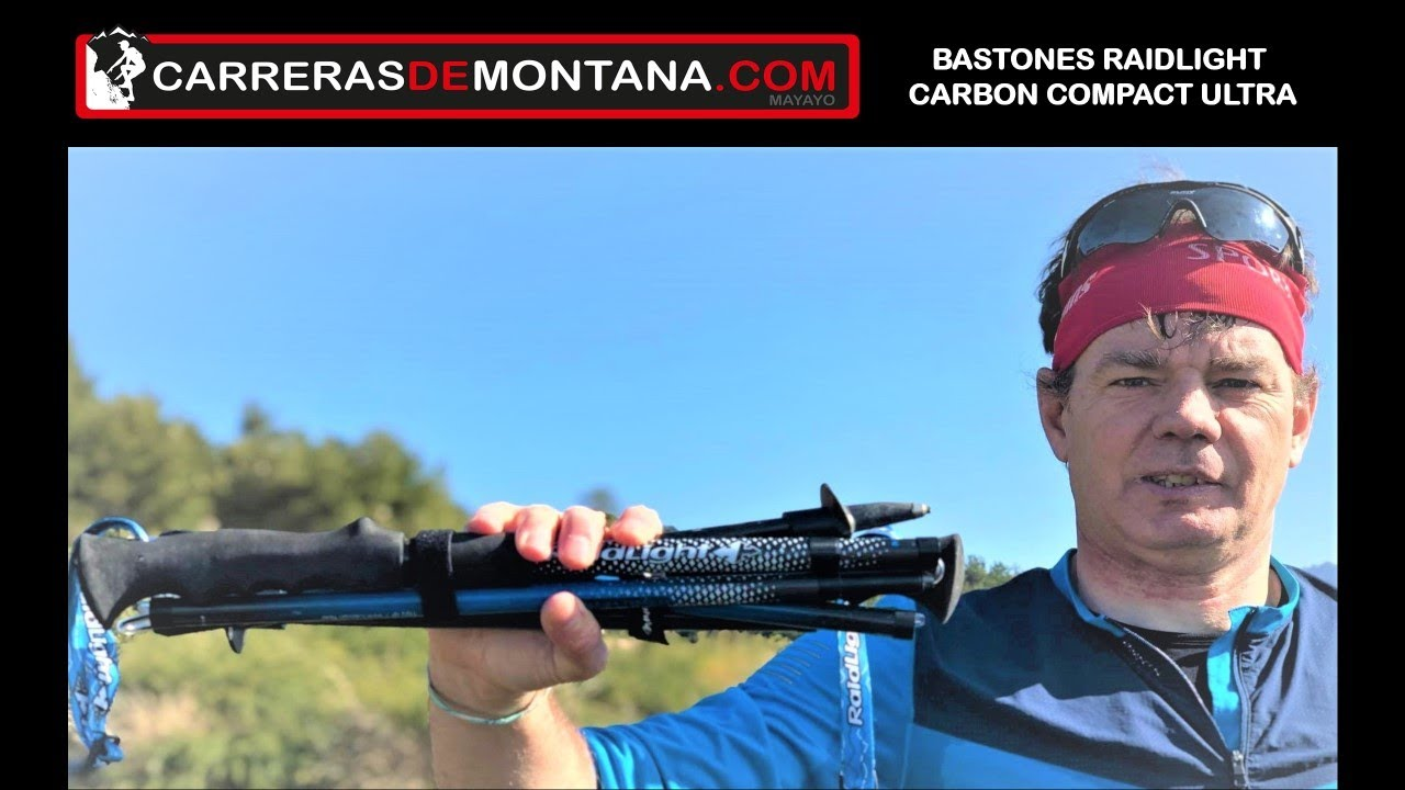 Bastones Raidlight Carbon Compact Ultra Anáisis Por Mayayo Youtube