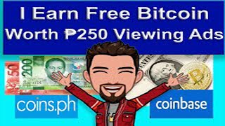 I EARN FREE BITCOIN WORTH ₱250 BY VIEWING ADS |EASY MONEY ONLINE| PAANO KUMITA BITCOIN VIEWING ADS