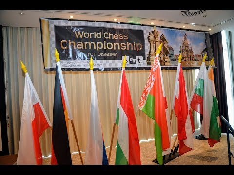 Dresden 2017. 3rd World Chess Championship for Disabled. Photo-video film - Closing ceremony