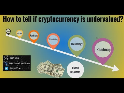How to tell if cryptocurrency is undervalued? (Guide)