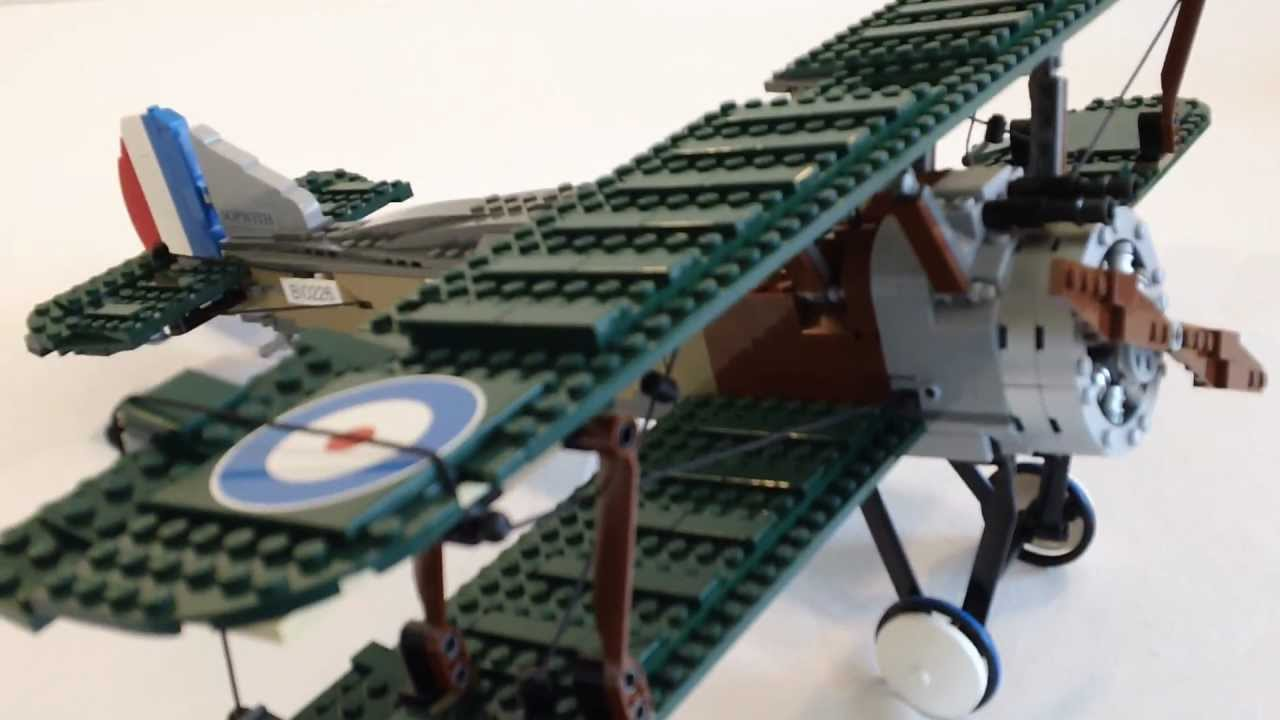 [HD] Lego Exclusive Sopwith Camel Review, Set 10226 - YouTube | 1280 x 720 jpeg 61kB