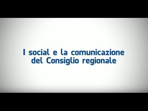 I social e la comunicazione del Consiglio regionale