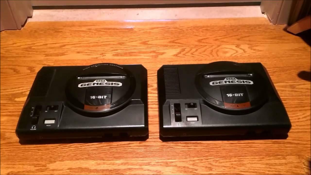 Sega Genesis Model 1 (VA6 Revision)