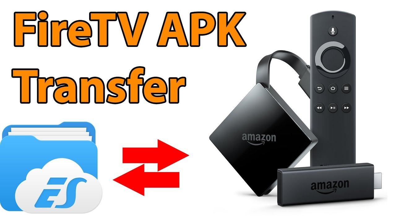 APK Dateien auf den FireTV Stick übertragen (Kodi installieren)  #Smartphone #Android