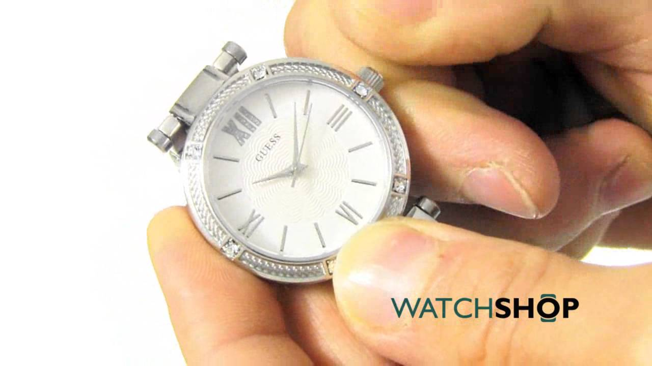 2e0a033594b9 Guess Ladies  Park Ave South Watch (W0767L1) - YouTube