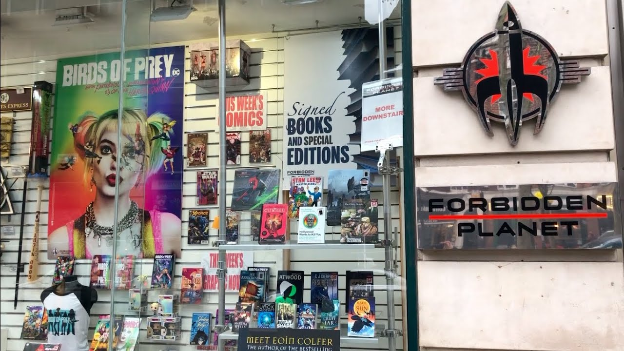 A TRIP TO FORBIDDEN PLANET
