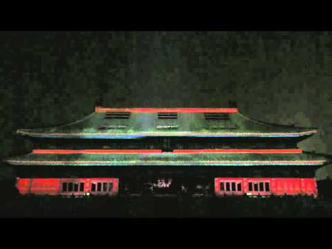 Celebrating 50 Years of 911 in Beijing - 3D projection mapping