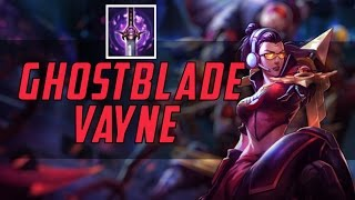 Gosu - NEW VAYNE BUILD - GHOSTBLADE