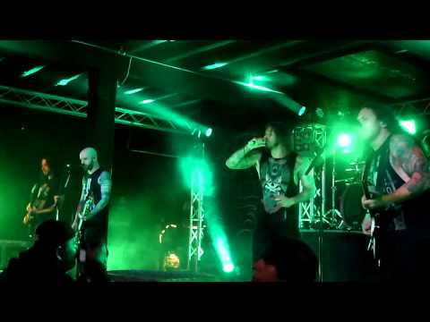 As I Lay Dying - Cauterize - Live HD 3-6-13