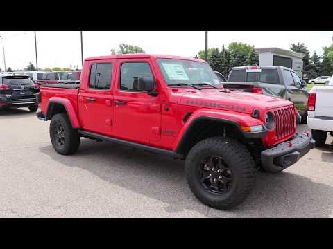 2020 Jeep Gladiator Rubicon Launch Edition