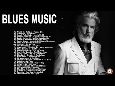Blues Music - Greatest Blues Songs Ever - The Best Of Slow Blues Ballads Music - Jazz Blues Guitar