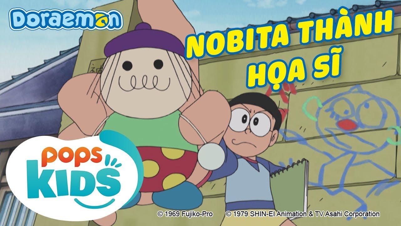 [S7] Doraemon Tập 349 - Lời Khen Cũng Làm Nobita Thành Họa Sĩ, Đường Đời Sẽ Dẫn Tới Đâu?