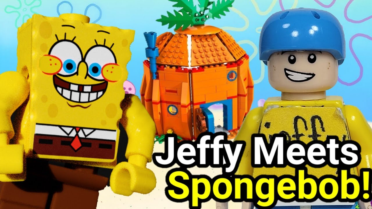 Lego SML: Jeffy Meets SpongeBob!