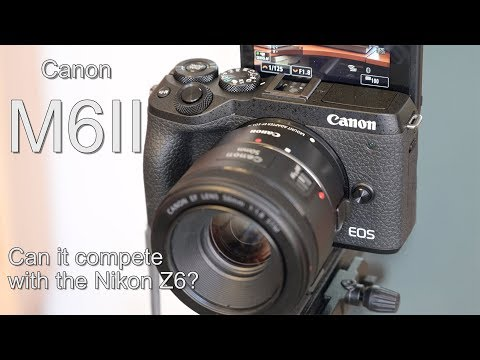 Canon M6II Review. Can it compete with the Nikon Z6?