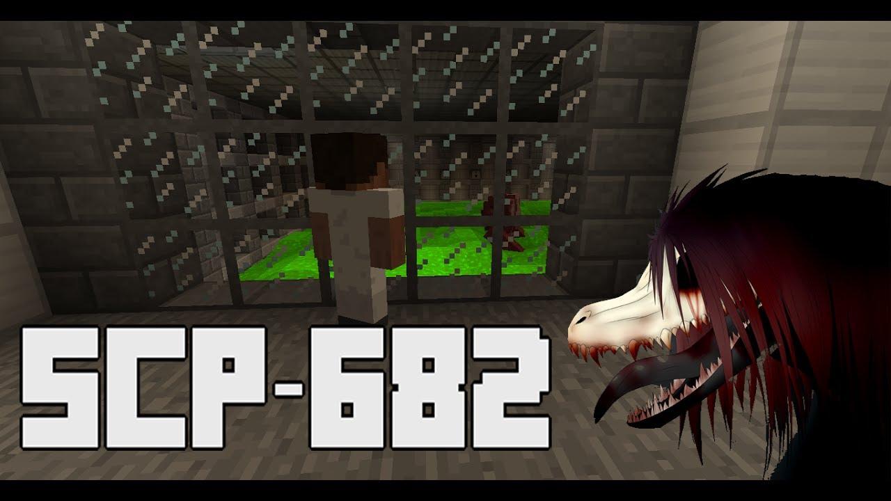 SCP-682 Minecraft Containment Breach [Hard-to-Destroy Reptile]