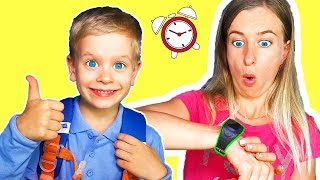 Put On Your Shoes Song   Dima Pretend Play Morning Routine Brush Teeth - Nursery Rhymes & Kids Songs