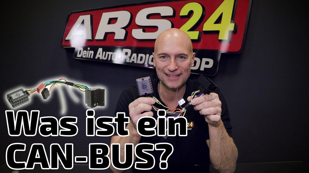 Was Ist Ein Bus : was ist ein can bus can bus adapter autoradios richtig anschlie en ars24 youtube ~ Frokenaadalensverden.com Haus und Dekorationen